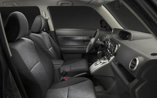 2012 Scion xB, Interior View (Toyota Motor Sales, U.S.A., Inc.), interior, manufacturer