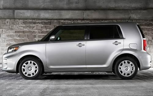2012 Scion xB, Left Side View (Toyota Motor Sales, U.S.A., Inc.), exterior, manufacturer, gallery_worthy