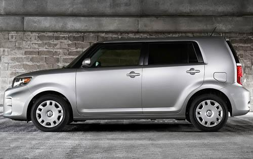 2012 Scion xB, Left Side View (Toyota Motor Sales, U.S.A., Inc.), manufacturer, exterior