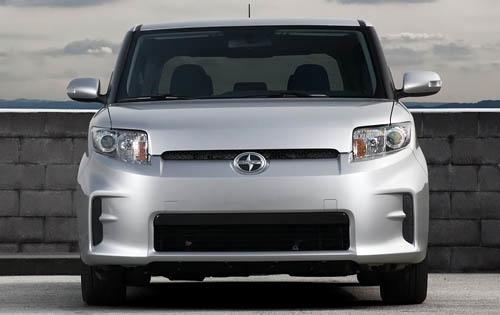 2012 Scion xB, Front View (Toyota Motor Sales, U.S.A., Inc.), exterior, manufacturer