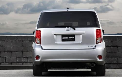 2012 Scion xB, Back View (Toyota Motor Sales, U.S.A., Inc.), exterior, manufacturer