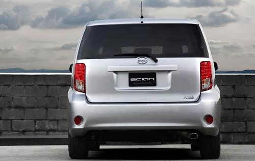 2012 Scion xB, Back View (Toyota Motor Sales, U.S.A., Inc.), exterior, manufacturer