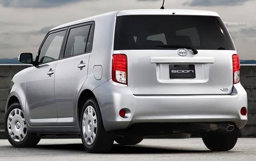 2012 Scion xB, Back Left Quarter View (Toyota Motor Sales, U.S.A., Inc.), exterior, manufacturer