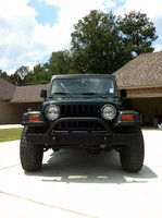 1997 Jeep Wrangler SE, front, exterior