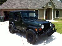 1997 Jeep Wrangler SE, side, exterior, gallery_worthy