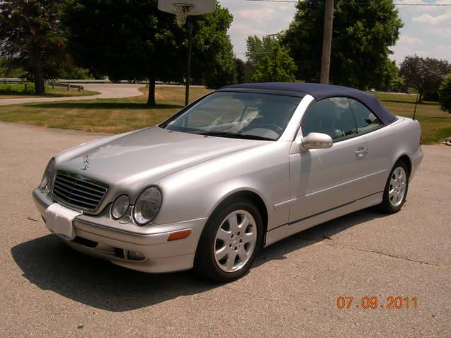 Picture of 2002 mercedes benz clk class 2 dr clk320 for Mercedes benz clk 2002