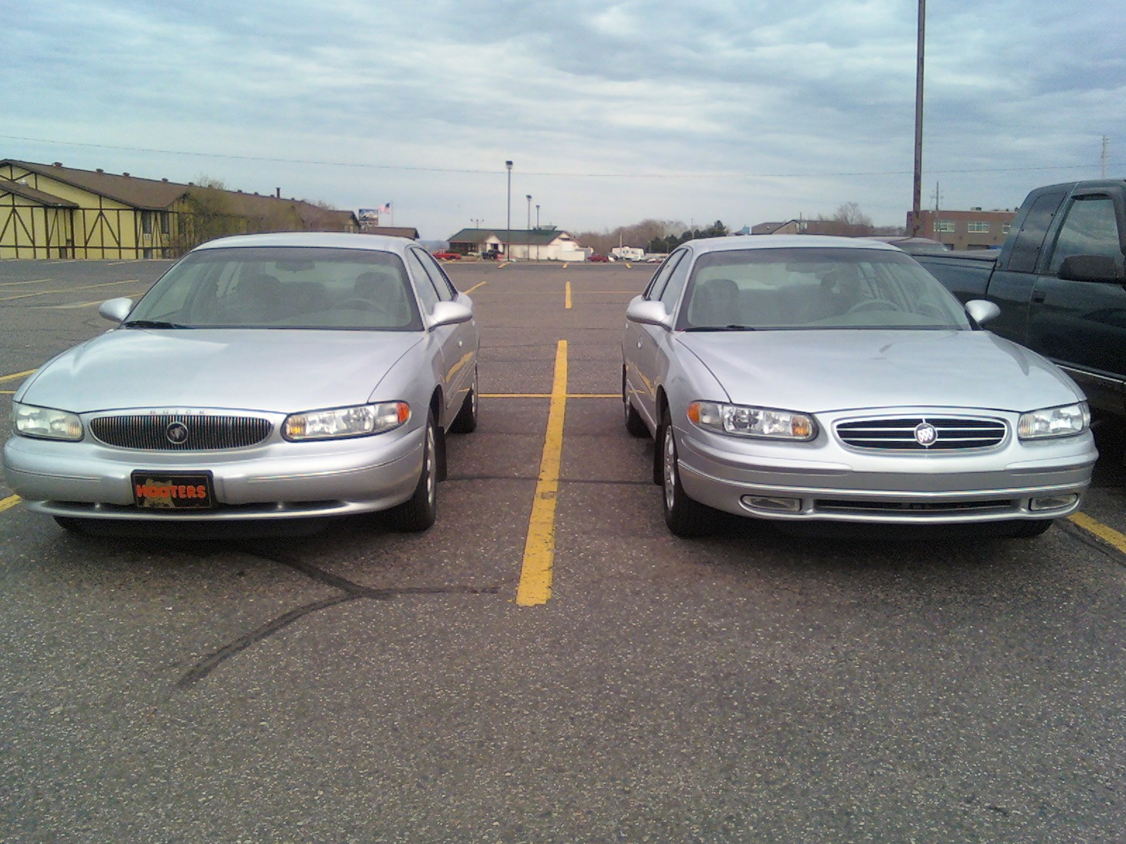 2000 Buick Regal LS, My Regal parked next to a similar, but more bread ...