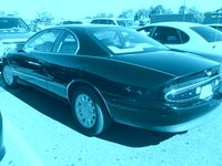 1999 Buick Riviera Supercharged Coupe, My phone camera was on the setting were it takes pictures with a blue tone, but it's still a good picture of a Rivera that I saw once again in the Kohl's parking...