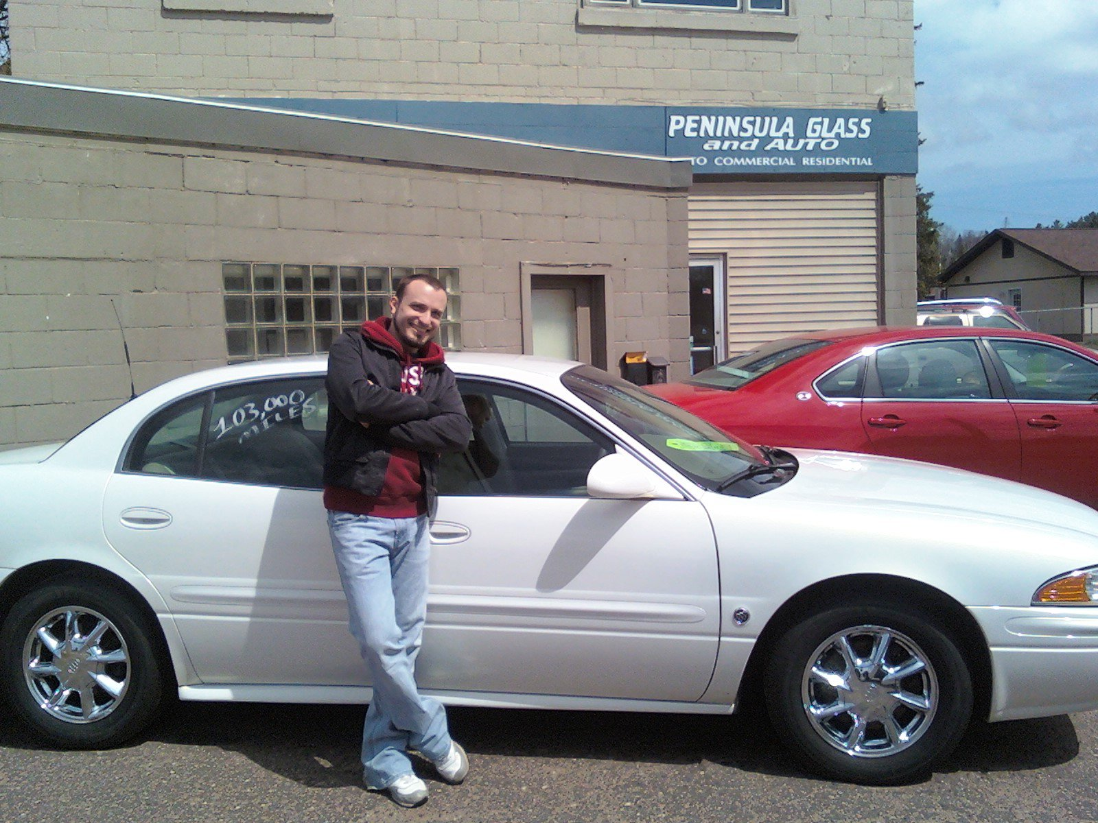 ... taken with the silver Buick LeSabre Celebration Edition!, exterior