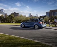 2012 Subaru Impreza, Left Side View (Subaru of America, Inc.), manufacturer, exterior