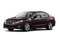 2012 Subaru Impreza, Front Left Quarter View (Subaru of America, Inc.), exterior, manufacturer