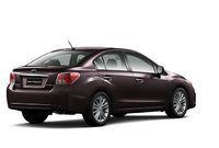 2012 Subaru Impreza, Back Right Quarter View (Subaru of America, Inc.), manufacturer, exterior