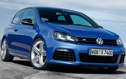 2012 Volkswagen Golf, Front Right Quarter View (Volkswagen AG), manufacturer, exterior