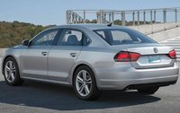 2012 Volkswagen Passat, Back Left Quarter View (Volkswagen AG), exterior, manufacturer