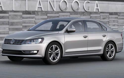 2012 Volkswagen Passat, Front Quarter View (Volkswagen AG), exterior, manufacturer