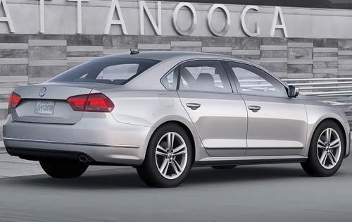 2012 Volkswagen Passat, Back Right Quarter View (Volkswagen AG), exterior, manufacturer