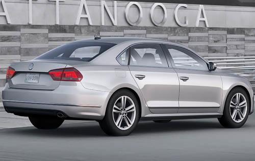 2012 Volkswagen Passat, Back Right Quarter View (Volkswagen AG), manufacturer, exterior