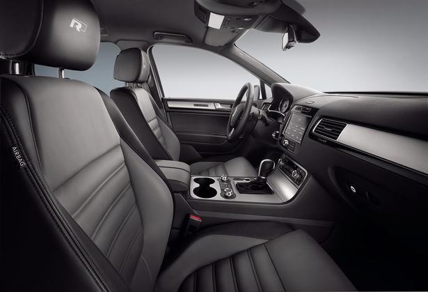 2012 Volkswagen Touareg, Interior View (Volkswagen AG), interior, manufacturer