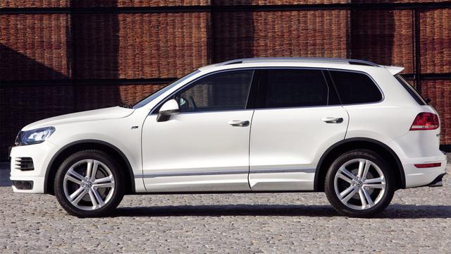 2012 Volkswagen Touareg, Left Side View (Volkswagen AG), exterior, manufacturer