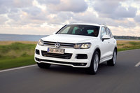 2012 Volkswagen Touareg, Front View (Volkswagen AG), exterior, manufacturer