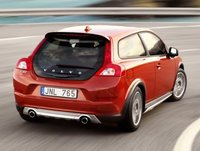 2012 Volvo C30, Back Right Quarter VIew (Aol images), exterior, manufacturer
