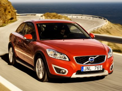 2012 Volvo C30, Front Right Quarter View (Aol images), manufacturer, exterior