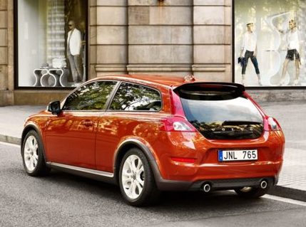 2012 Volvo C30, Back Quarter View (Aol images), manufacturer, exterior