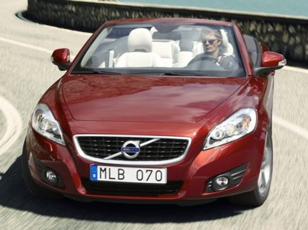 2012 Volvo C70, Front View (Aol images), exterior, manufacturer