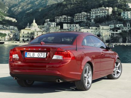 2012 Volvo C70, Back Right Quarter View (Aol images), manufacturer, exterior