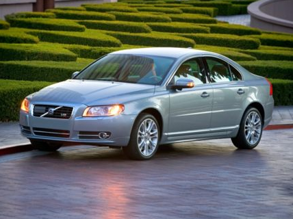 2012 Volvo S80, Front Left Quarter View (Aol images), exterior, manufacturer