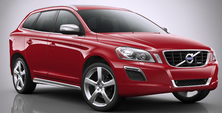 2012 Volvo XC60, Front Right Quarter VIew (Volvo Cars of North America, Inc.), exterior, manufacturer