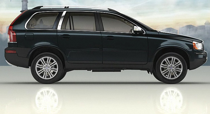 2012 Volvo XC90, Right Side View (Ford Motor Company), manufacturer, exterior