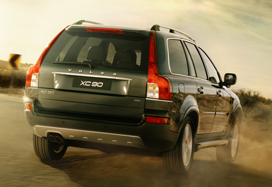 2012 Volvo XC90, Back View (Ford Motor Company), exterior, manufacturer