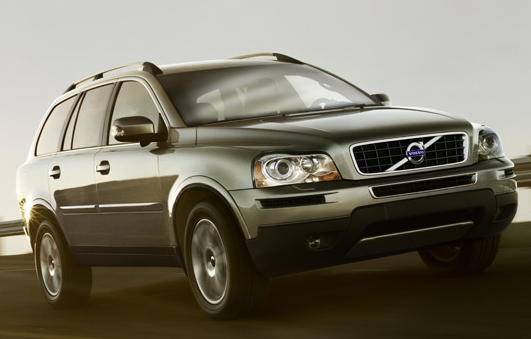 2012 Volvo XC90, Front Right Quarter View (Ford Motor Company), exterior, manufacturer, gallery_worthy