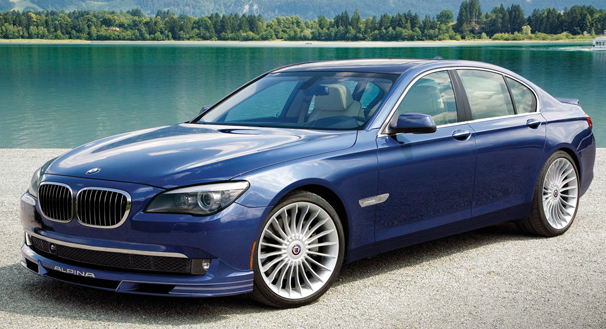 2011 BMW Alpina B7, Front Left Quarter View (BMW of North America, Inc.), exterior, manufacturer