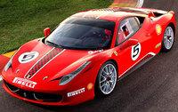 2011 Ferrari 458 Italia, Front Overhead View (Ferrari North America), exterior, manufacturer