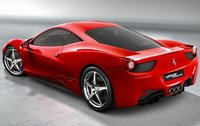 2011 Ferrari 458 Italia, Back Left Quarter View (Ferrari North America), manufacturer, exterior