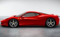 2011 Ferrari 458 Italia, Left Side View (Ferrari North America), exterior, manufacturer