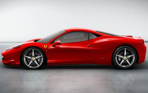 Left Side View (Ferrari North America)