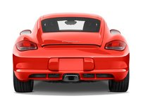 2011 Porsche Cayman, Back View (Porsche Cars North America, Inc.), exterior, manufacturer