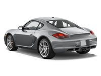 2011 Porsche Cayman, Back Quarter View (Porsche Cars North America, Inc.), exterior, manufacturer