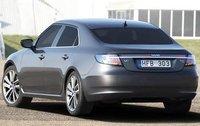 2010 Saab 9-5, Back Left Quarter View (Saab Cars USA), exterior, manufacturer