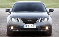 2010 Saab 9-5, Front View (Saab Cars USA), exterior, manufacturer