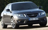 2010 Saab 9-5, Front Right Quarter View (Saab Cars USA), exterior, manufacturer