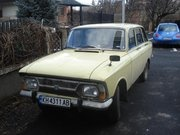 1976 Moskvitch 412 Overview