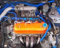 Picture of 1994 Honda Accord EX Coupe, engine