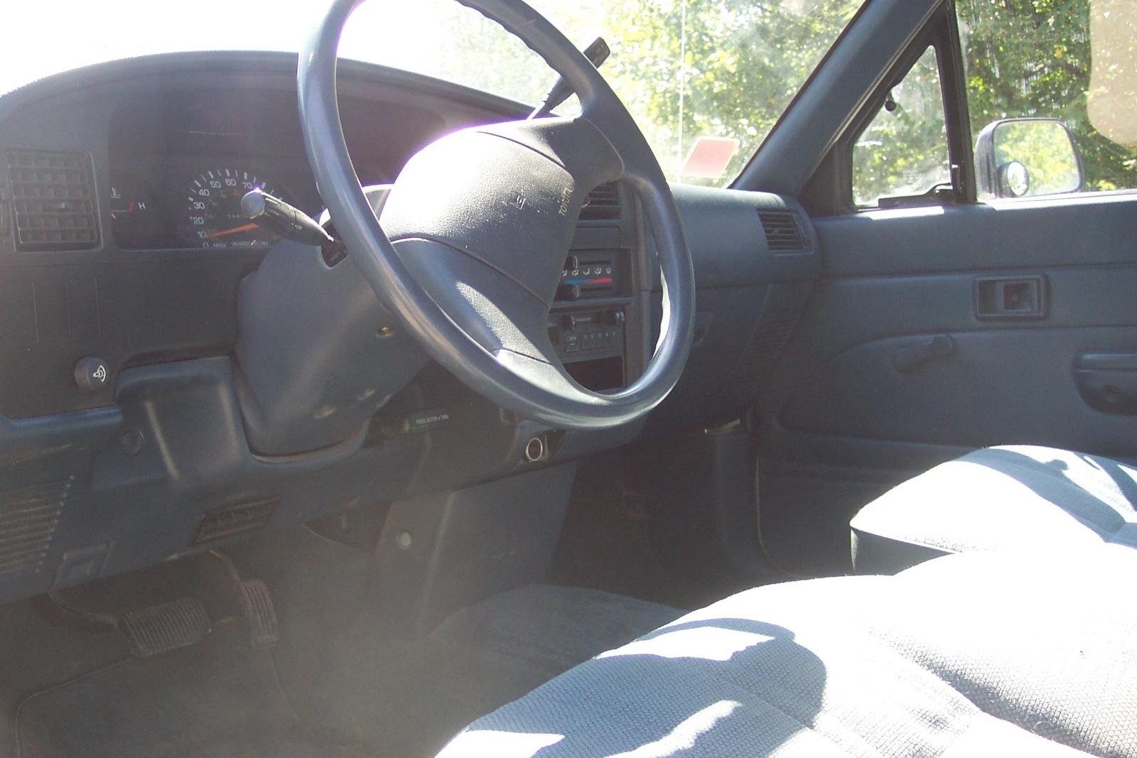 1989 Toyota Pickup Interior Pictures Cargurus