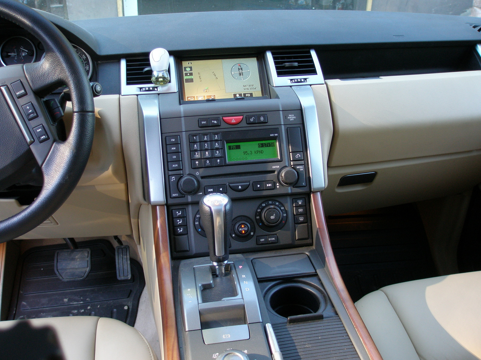 2006 land rover range rover sport interior pictures for Interior range rover