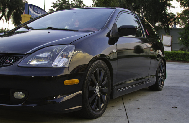 Picture of 2004 Honda Civic Coupe Si Hatchback, exterior, gallery_worthy