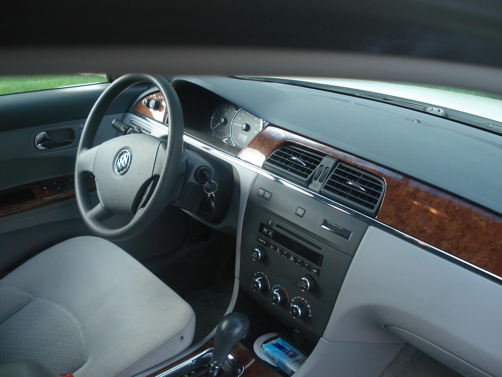 Buick Lacrosse Cx Pic on 2007 Buick Lacrosse Cxl Interior